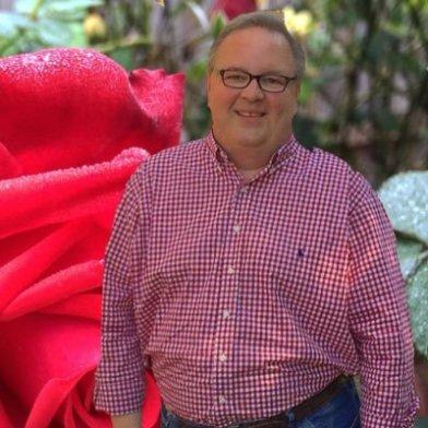 """Chris Van Cleeve aka """"The Redneck Rosarian"""""""